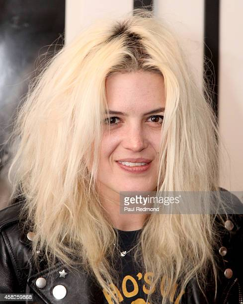 Musician Alison Mosshart of The Kills attends the reception celebrating the book launch for 'Echo Home' by Jamie Hince of The Kills at Morrison Hotel...