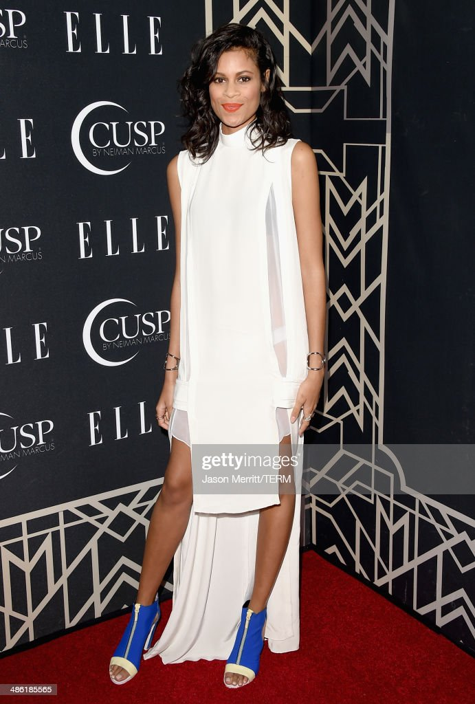 Musician Aluna Francis attends the 5th Annual ELLE Women in Music Celebration presented by CUSP by Neiman Marcus. Hosted by ELLE Editor-in-Chief Robbie Myers with performances by Sarah McLachlan, Angel Haze and Betty Who, with special DJ set by Rumer Willis at Avalon on April 22, 2014 in Hollywood, California.