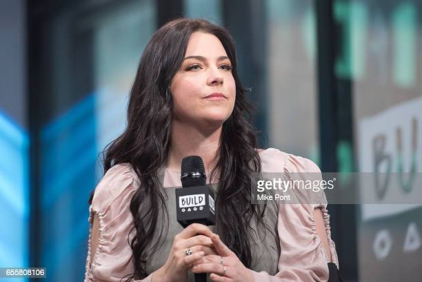 Musician Amy Lee attends Build Series to discuss her new single 'Speak to Me' at Build Studio on March 20 2017 in New York City
