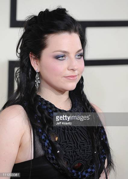 Musician Amy Lee of Evanescence arrives to the 50th Annual GRAMMY Awards at the Staples Center on February 10 2008 in Los Angeles California