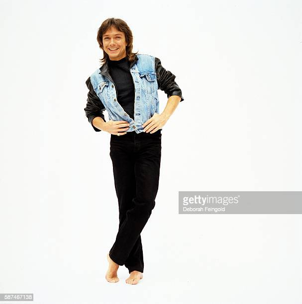 Musician and actor David Cassidy photographed for Rolling Stone in October 1990 in New York City New York