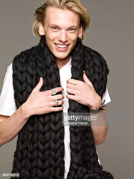 Musician and actor Jamie Campbell Bower is photographed for In Style magazine on May 29 2013 in London England