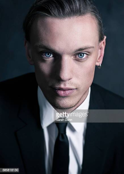 Musician and actor Jamie Campbell Bower is photographed on April 12 2015 in London England