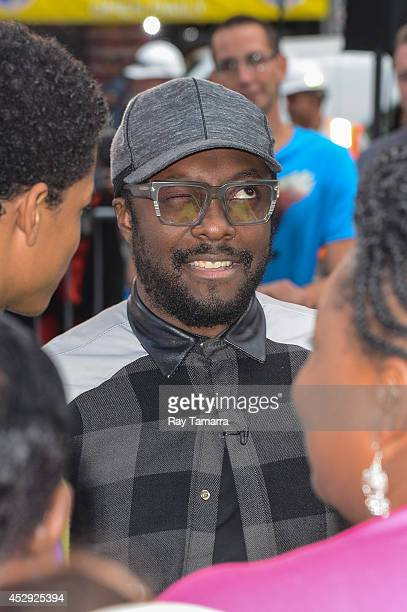 Musician and actor william enters the 'Good Morning America' taping at the ABC Times Square Studios on July 30 2014 in New York City