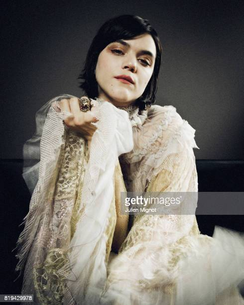 Musician and Actress SoKo is photographed for Grazia Magazine on May 13 2016 in Cannes France