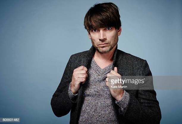 Musician and bass player with Blur Alex James is photographed for Luxe magazine on September 11 2015 in London England