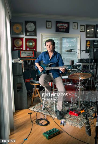 Musician and film composer Trevor Rabin photographed for Variety on June 12 in his home studio in Los Angeles California