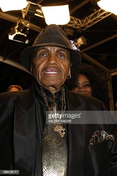 US musician and manager Joe Jackson arrives on May 24 2013 for the screening of the film 'Michael Kohlhaas' presented in Competition at the 66th...