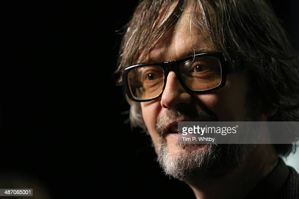 Musician and panellist Jarvis Cocker attends the 'Hybrid Vigour When Music Art Doc Collide' Panel Event during the Sundance London Film and Music...