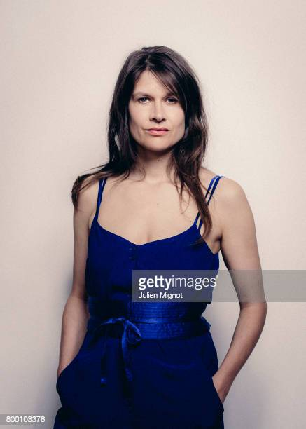 Musician and singer Camille is photographed for L'OBS on May 4 2017 in Paris France