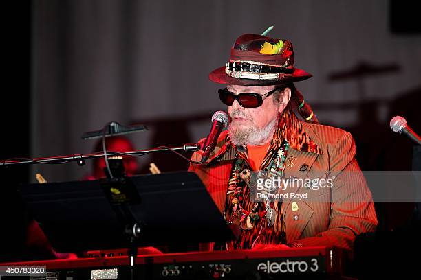 Musician and singer Dr John performs on the Petrillo Music Shell during the 31st Annual Chicago Blues Festival on June 15 2014 in Chicago Illinois
