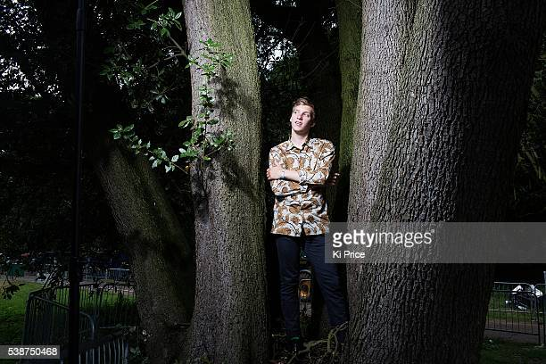 Musician and singer George Ezra is photographed for the Times on July 20 2014 in Ipswich England