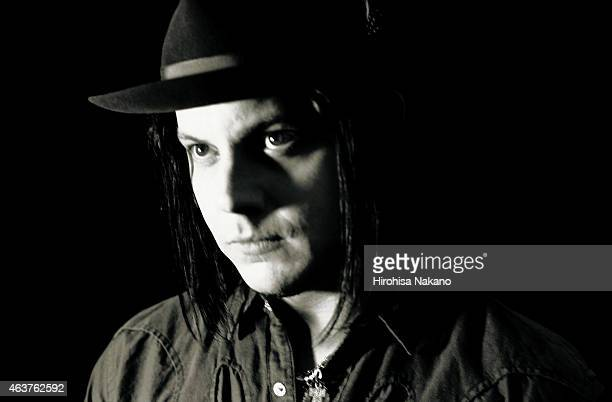 Musician and singer Jack White is photographed on August 22 2006 in Tokyo Japan