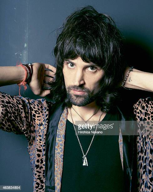 Musician and singer Serge Pizzorno of rock band Kasabian are photographed on August 15 2011 in Tokyo Japan