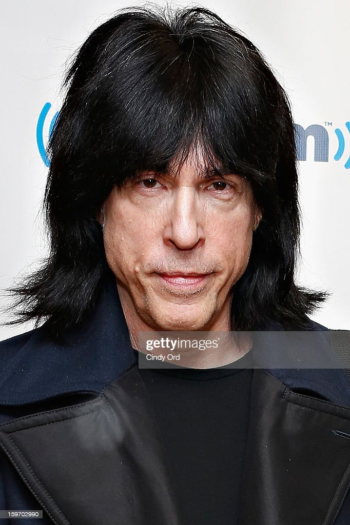 Musician and SiriusXM host <a gi-track='captionPersonalityLinkClicked' href=/galleries/search?phrase=Marky+Ramone&family=editorial&specificpeople=1995170 ng-click='$event.stopPropagation()'>Marky Ramone</a> poses at the SiriusXM Studios on January 18, 2013 in New York City.