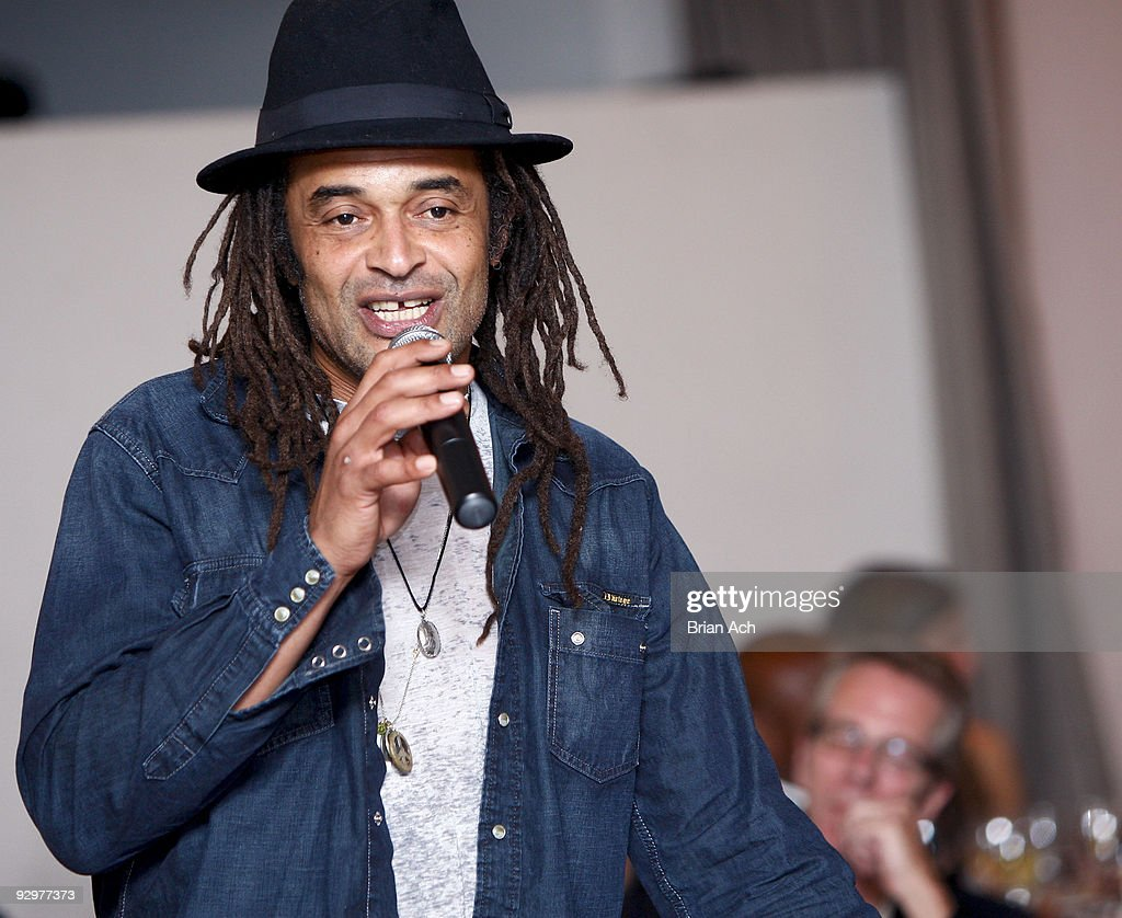 Musician and tennis star Yannick Noah attends the 6th Annual Ten O'Clock Classics benefit gala at the The Union Square Ballroom on November 10, 2009 in New York City.