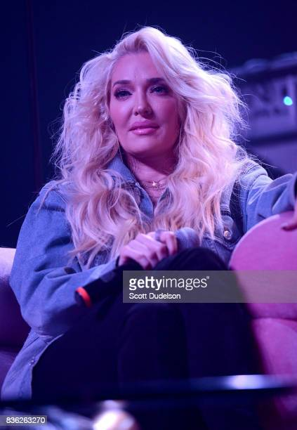 Musician and TV personality Erika Jayne performs onstage during the GIRL CULT Festival at The Fonda Theatre on August 20 2017 in Los Angeles...