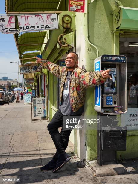 Musician Anderson Paak photographed for Rolling Stone Magazine on March 27 in Los Angeles California