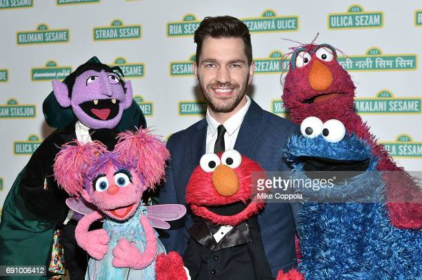 Musician Andy Grammar poses for a photo at the 15th Annual Sesame Workshop Benefit Gala at Cipriani 42nd Street on May 31 2017 in New York City