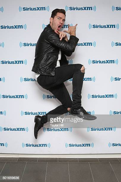 Musician Andy Grammer visits the SiriusXM Studios on December 16 2015 in New York City
