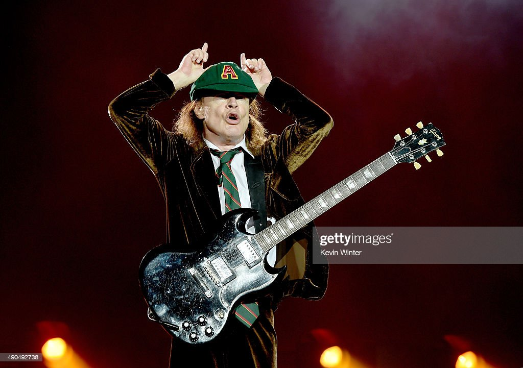 AC/DC Performs At Dodger Stadium