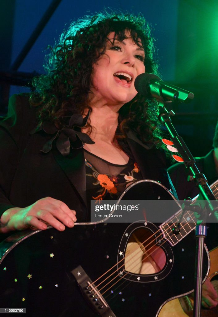 Musician Ann Wilson of the band Heart performs at the Who Shot Rock & Roll Opening Night VIP Reception at the Annenberg Space For Photography on June 21, 2012 in Century City, California.