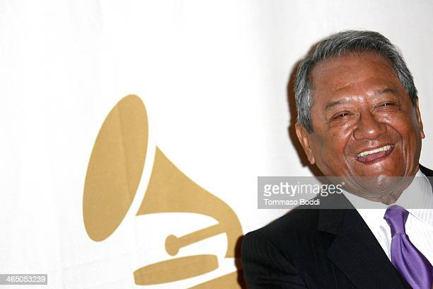 Musician Armando Manzanero attends the GRAMMY Foundation's Special Merit Awards Ceremony held at The Wilshire Ebell Theatre on January 25 2014 in Los...