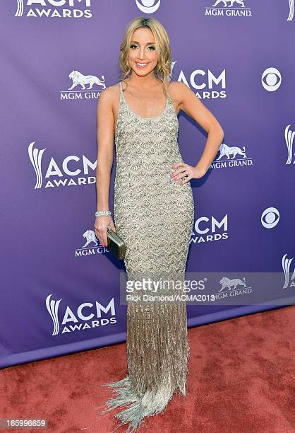 Musician Ashley Monroe attends the 48th Annual Academy of Country Music Awards at the MGM Grand Garden Arena on April 7 2013 in Las Vegas Nevada
