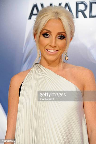 Musician Ashley Monroe attends the 49th annual CMA Awards at the Bridgestone Arena on November 4 2015 in Nashville Tennessee