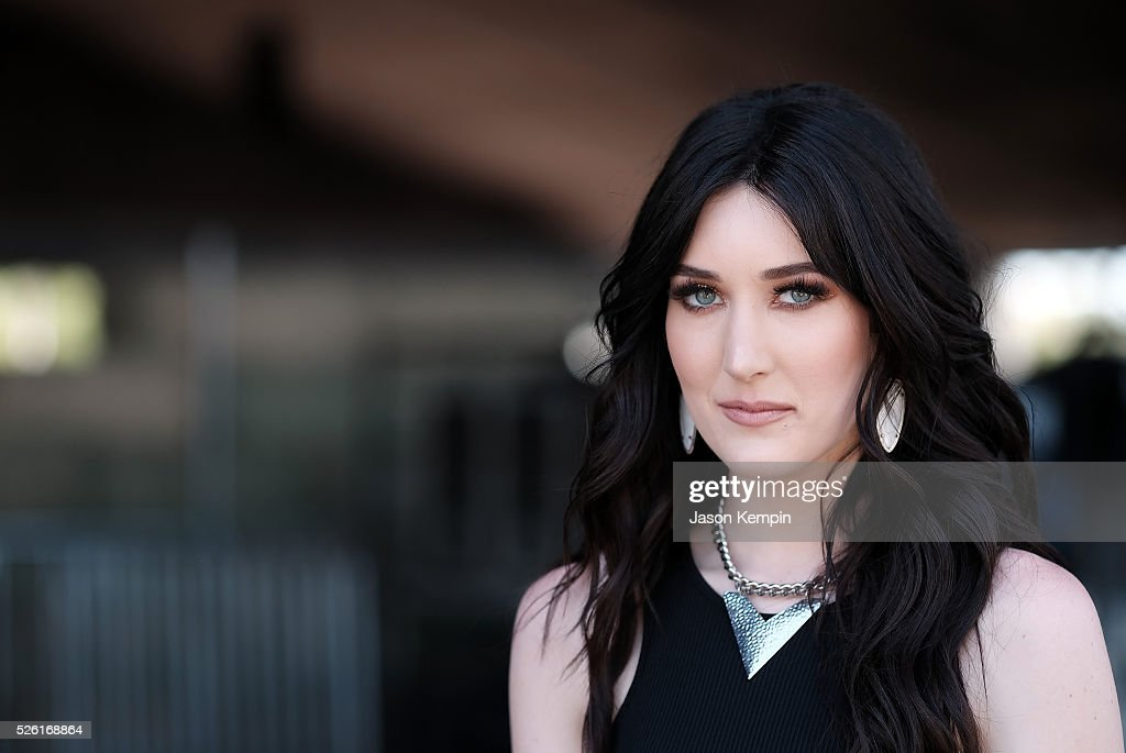 Musician <a gi-track='captionPersonalityLinkClicked' href=/galleries/search?phrase=Aubrie+Sellers&family=editorial&specificpeople=7270394 ng-click='$event.stopPropagation()'>Aubrie Sellers</a> poses backstage during 2016 Stagecoach California's Country Music Festival at Empire Polo Club on April 29, 2016 in Indio, California.