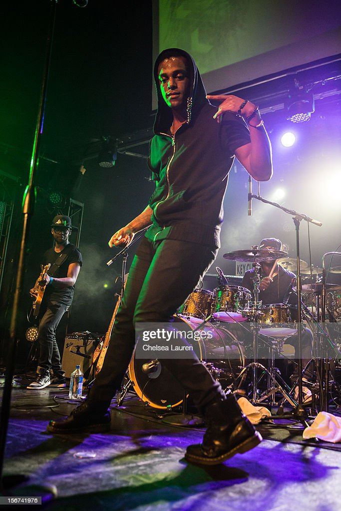 Musician Austin Brown performs at Myspace LIVE series at Key Club on November 19, 2012 in West Hollywood, California.