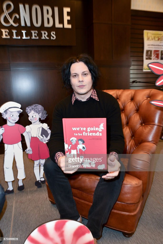 "Jack White Book Signing For ""We're Going To Be Friends"""