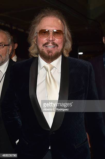 Musician Barry Gibb attends The 57th Annual GRAMMY Awards at STAPLES Center on February 8 2015 in Los Angeles California