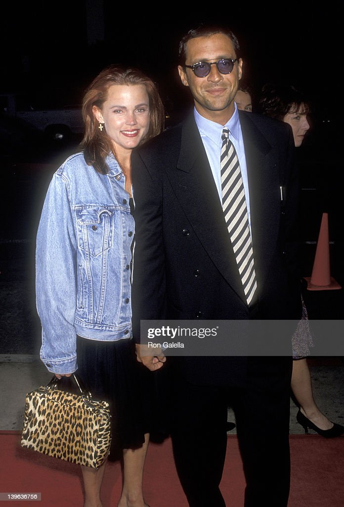 Musician Belinda Carlisle of The GoGo's and husband Morgan Mason attend 'The Commitments' Hollywood Premiere on August 7 1991 at Pacific's Cinerama...