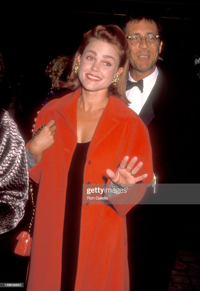 Musician Belinda Carlisle of The GoGo's and husband Morgan Mason attend the 35th Annual Thalians Ball on October 13 1990 at Century Plaza Hotel in...