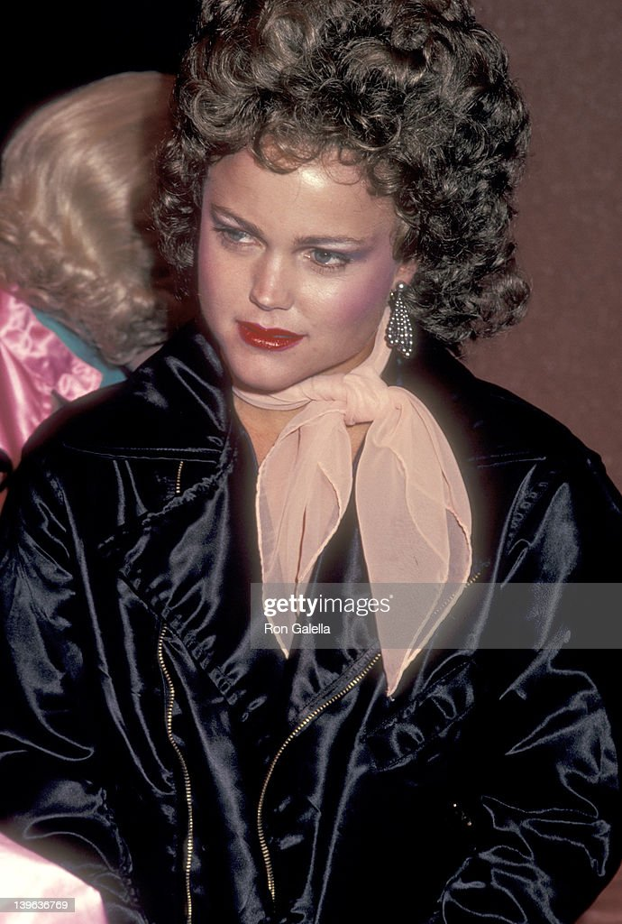 Musician Belinda Carlisle of The GoGo's attends the 'Grease' Opening Night Performance on May 26 1983 at Long Beach Civic Light Opera in Long Beach...