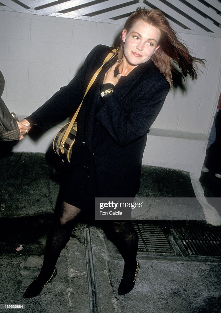 Musician Belinda Carlisle of The GoGo's on January 18 1988 dines at Spago in West Hollywood California