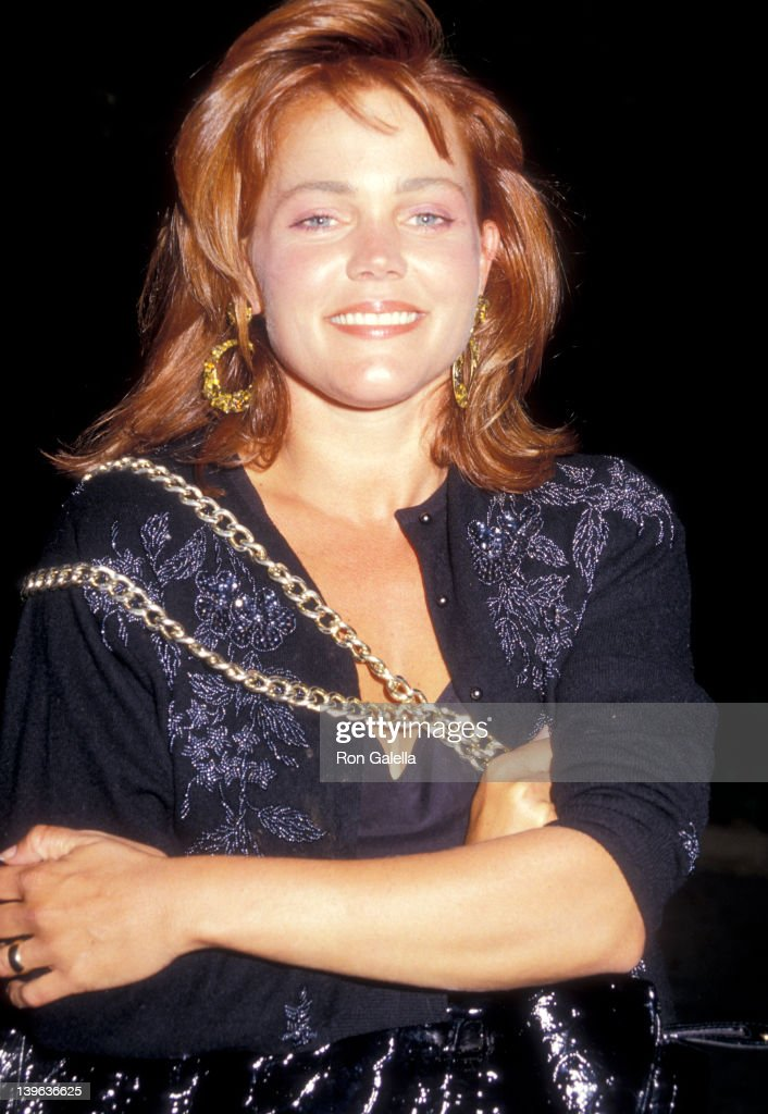 Musician Belinda Carlisle on June 3 1987 dines at Spago in West Hollywood California