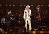 Musician Ben Folds singer Kesha and Rob Moose perform onstage during the 2016 Billboard Music Awards at TMobile Arena on May 22 2016 in Las Vegas...