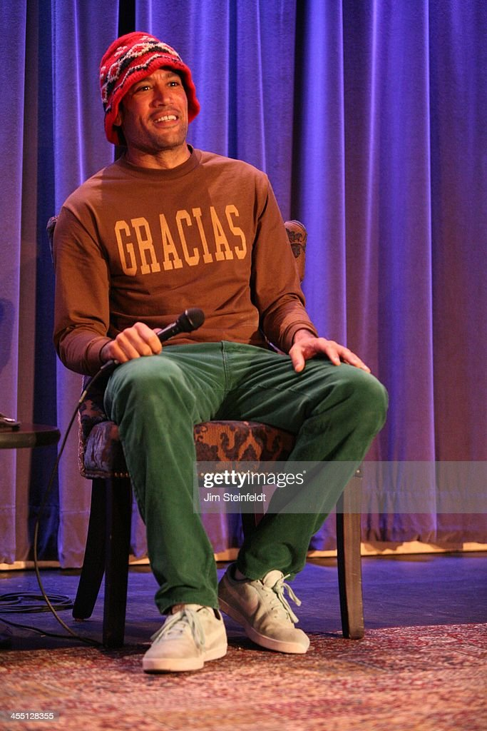Musician Ben Harper at press conference for Boards Bands auction at the Grammy Museum in Los Angeles California on December 5 2013