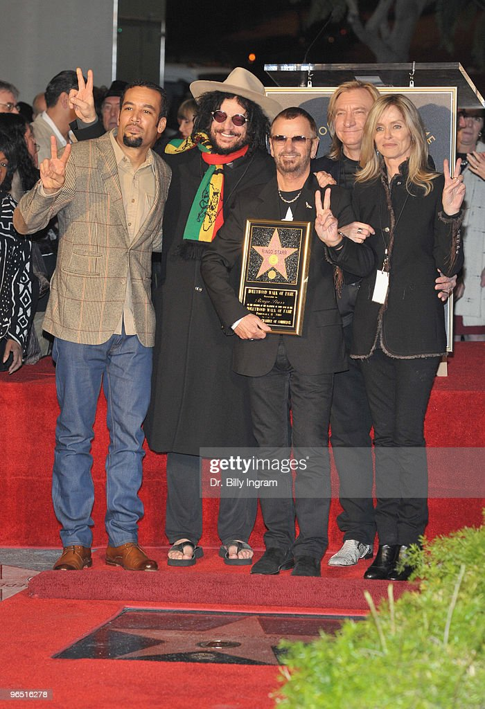 Ringo Starr Honored With A Star On The Hollywood Walk Of Fame