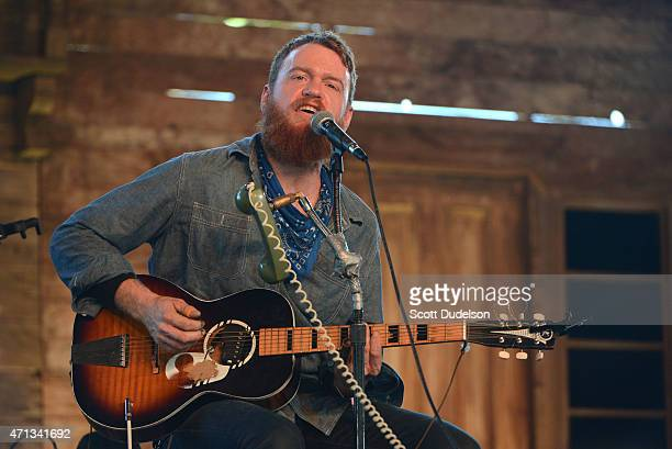 Musician Ben Miller performs onstage during day 3 of the Stagecoach Music Festival at The Empire Polo Club on April 26 2015 in Indio California