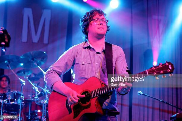 Musician Ben Ottewell of Gomez performs in concert at Stubb's BarBQ on June 8 2009 in Austin Texas