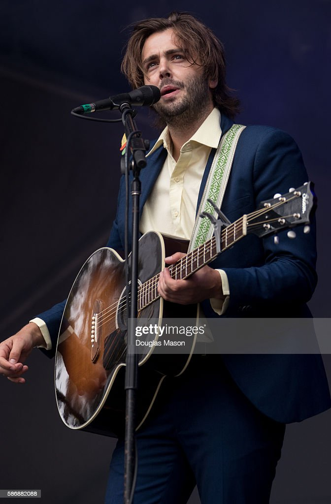Musician Ben Schneider of Lord Huron performs during the Outside Lands Music Festival 2016 in at Golden Gate Park on August 6 2016 in San Francisco...