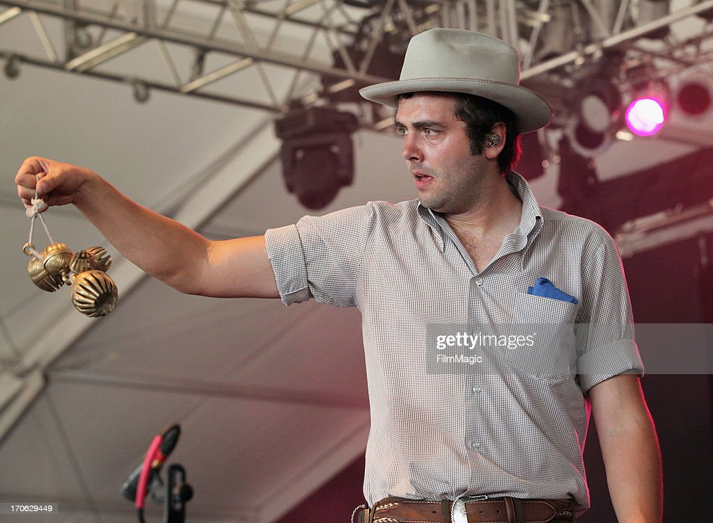 Musician Ben Schneider of Lord Huron performs onstage at This Tent during day 3 of the 2013 Bonnaroo Music Arts Festival on June 15 2013 in...
