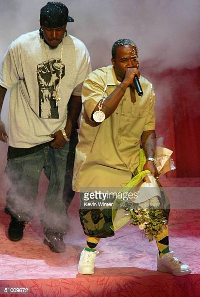 Musician Big Boi of Outkast performs on stage at the 2004 Black Entertainment Awards held at the Kodak Theatre on June 29 2004 in Hollywood California