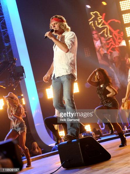 Musician Big Kenny of Big Rich performs onstage during Day 1 of rehearsals for the 2011 CMT Music Awards at Bridgestone Arena on June 7 2011 in...