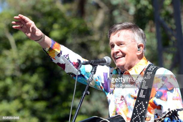 Musician Bill Anderson performs onstage during the Hardly Strictly Bluegrass music festival at Golden Gate Park on October 7 2017 in San Francisco...