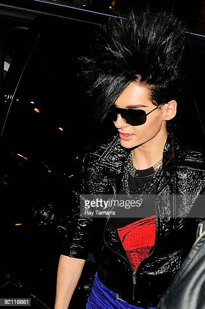 Musician Bill Kaulitz of Tokio Hotel enters Best Buy on October 20 2009 in New York City