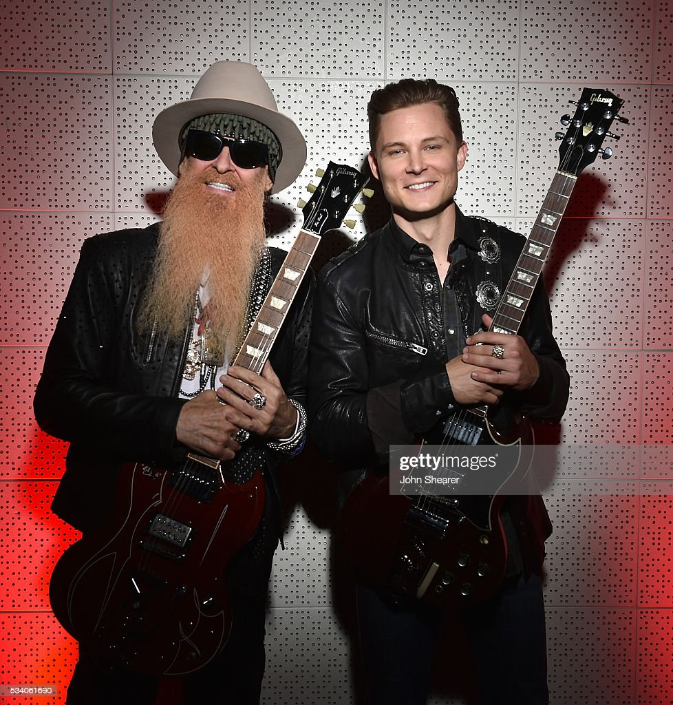 Musician <a gi-track='captionPersonalityLinkClicked' href=/galleries/search?phrase=Billy+Gibbons&family=editorial&specificpeople=242873 ng-click='$event.stopPropagation()'>Billy Gibbons</a> and singer-songwriter <a gi-track='captionPersonalityLinkClicked' href=/galleries/search?phrase=Frankie+Ballard&family=editorial&specificpeople=8045252 ng-click='$event.stopPropagation()'>Frankie Ballard</a> pose backstage before Skyville Live presents <a gi-track='captionPersonalityLinkClicked' href=/galleries/search?phrase=Billy+Gibbons&family=editorial&specificpeople=242873 ng-click='$event.stopPropagation()'>Billy Gibbons</a> with <a gi-track='captionPersonalityLinkClicked' href=/galleries/search?phrase=Frankie+Ballard&family=editorial&specificpeople=8045252 ng-click='$event.stopPropagation()'>Frankie Ballard</a>, Orianthi, ZZ Ward and Mike Henderson on May 24, 2016 in Nashville, Tennessee.